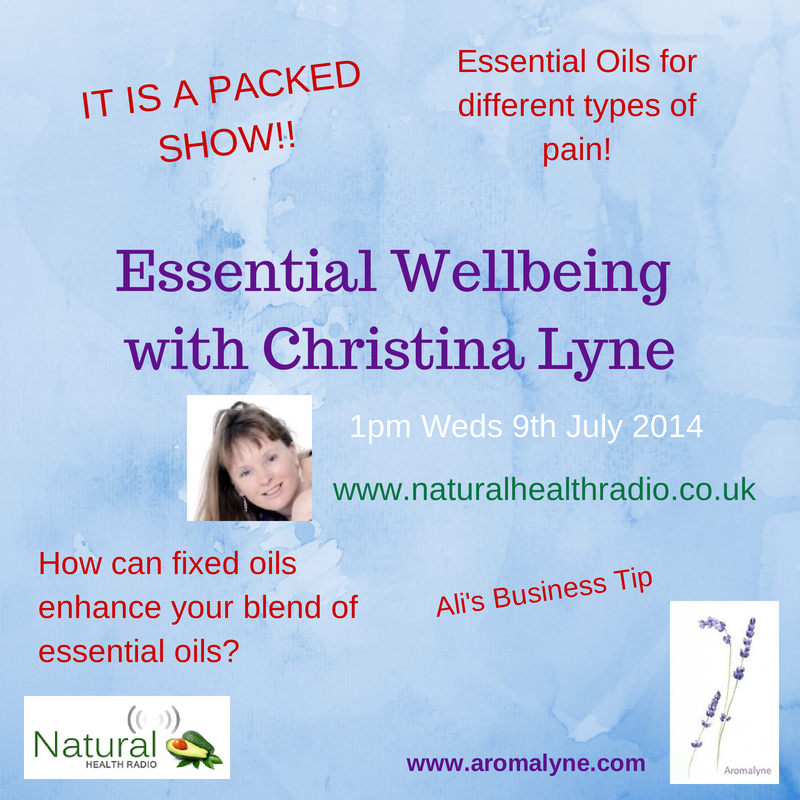 Essential Wellbeing 9th July 2014